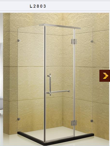 【德美】专业河南郑州定做酒店工程淋浴房的厂家