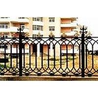 北京锻造铁艺护栏,方管铁艺栏杆,铸铁铁艺围栏