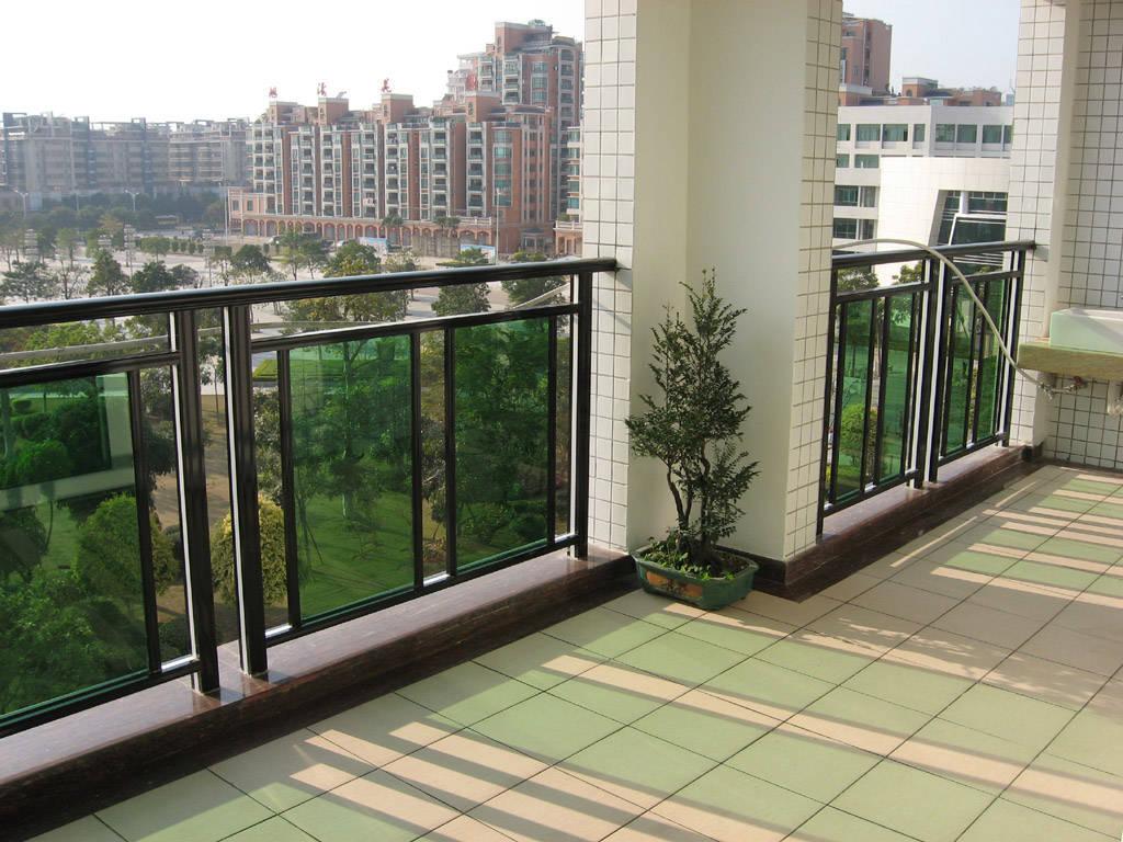 帕达龙铝合金栏杆护栏阳台护栏楼梯扶手