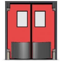 东莞自由防撞门 自由撞击门 不锈钢防撞门 工业防撞门
