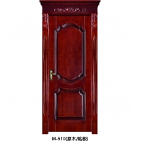 成都实木门-木中堂实木套装门 M-510