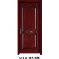 成都实木门-木中堂实木套装门 M-515
