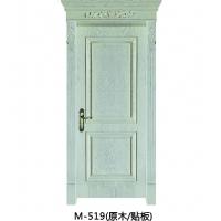 成都实木门-木中堂实木套装门 M-519