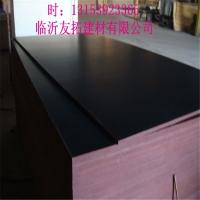 4*8尺 一次成型杨木整芯黑膜建筑模板