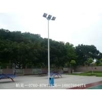 雷州篮球场灯杆生产供应,镀锌高杆灯质量有保证