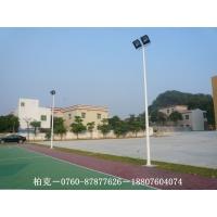 汕尾球场灯杆,篮球场灯杆标准,白色直杆灯美观大方
