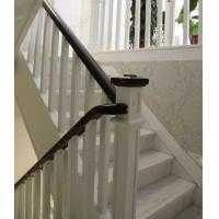 品家楼梯 楼梯案例 实木楼梯 简约实木小方柱 上海复实木楼梯