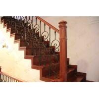 家庭用铁艺楼梯围栏 新工艺装配式铁艺立柱 可拆装围栏安装