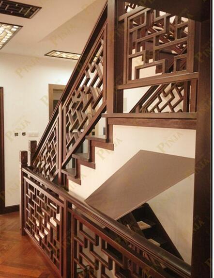 实木楼梯花格围栏必配榉木花格中式系列立柱花格装饰系列花格