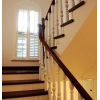 闵行楼梯工厂整木制作 橡木楼梯踏板纹理 坚固榉木材质楼梯踏板