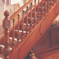 乘通 实木楼梯栏杆