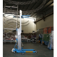 不用电的展会手摇升降机 腾昌LGA手摇系列升降机现货出售