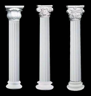 欧式造型建筑雕塑,罗马柱,线条,门,窗套,浮雕饰花,栏杆扶手/花瓶柱