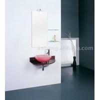 玻璃卫浴 卫浴柜 PVC浴室柜 浴室家具 实木浴室柜