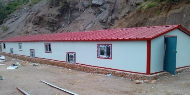 吉林省长岭彩钢房 钢结构 活动房 民用房 保温大棚等