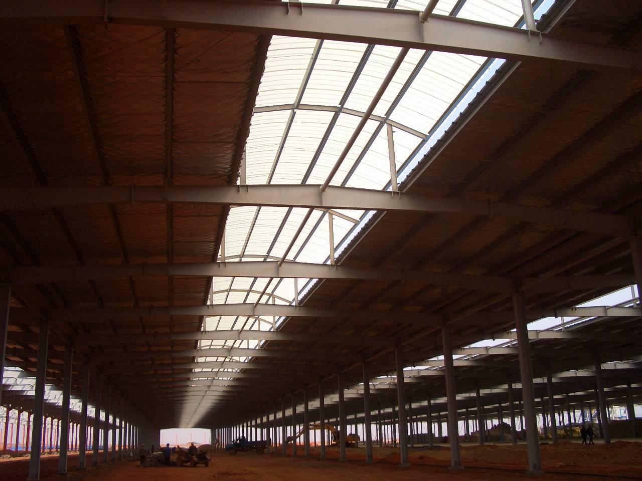 别墅,活动房屋,屋顶加层以及大跨度钢结构厂房