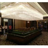 中山水晶灯酒店工程水晶灯酒吧灯具大堂灯具云石灯
