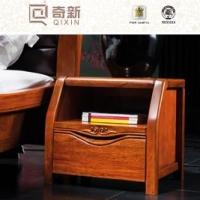 奇新实木床头柜  高档纯实木床头柜 原木床头柜 A831