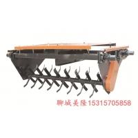 有机肥翻堆机 轨道式翻抛机有自动肥翻耙机 自动化