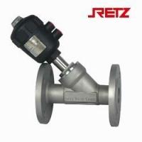 进口蒸汽气动角座阀、进口热油气动角座阀、进口水用气动角座阀