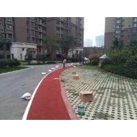 陕西西安延安榆林商洛宝鸡咸阳彩色路面粘接剂陶瓷颗粒路面