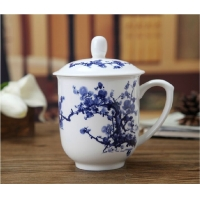 景德镇陶瓷茶杯 合元堂