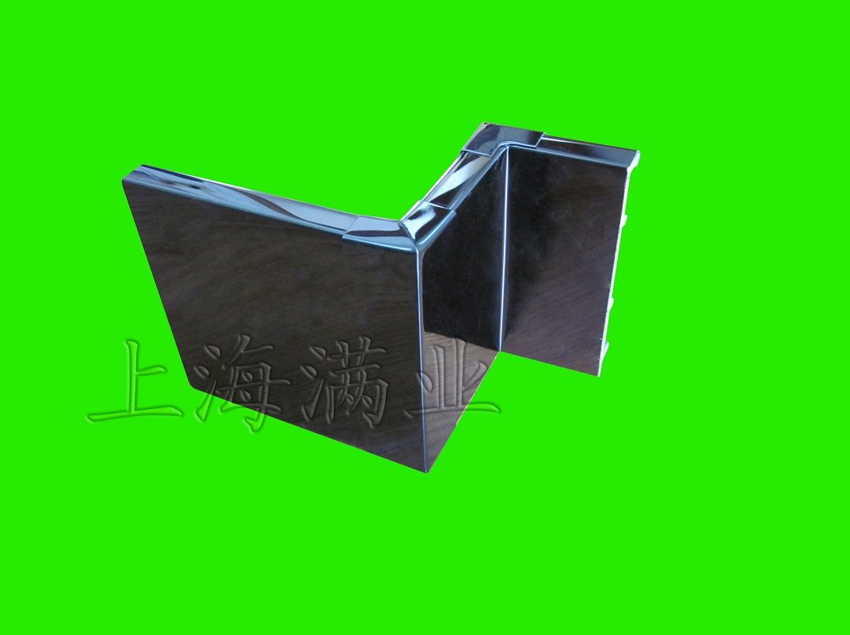 上海黑钛金不锈钢踢脚线_6cm 8cm 10cm 12cm多