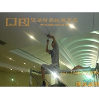 软膜天花吊顶装饰材料 汲润品牌软膜优势