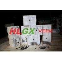 钢铁厂型钢薄板热处理炉用含锆型硅酸铝纤维针刺毯纤维模块