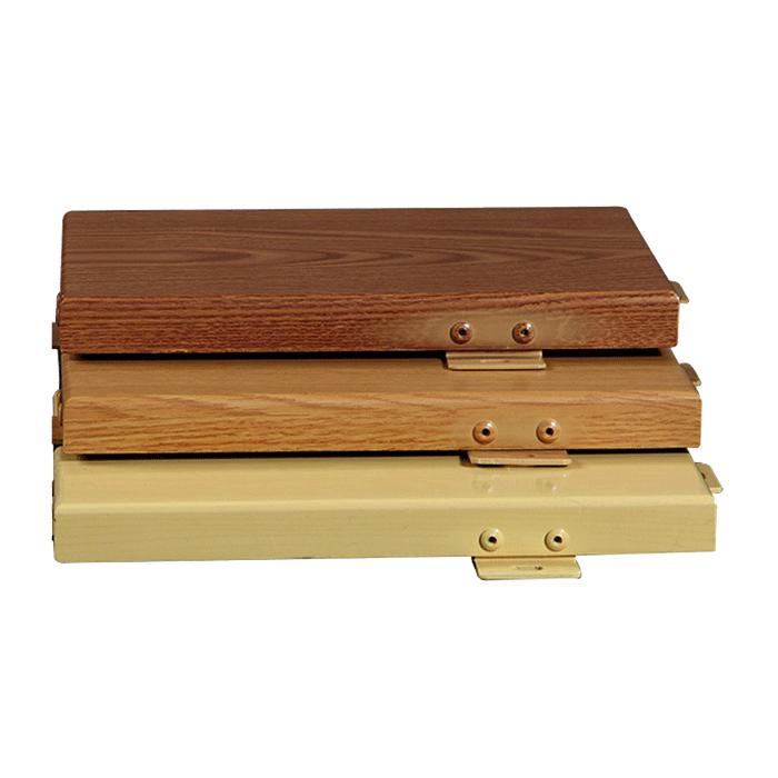 氟氯碳仿木纹铝单板