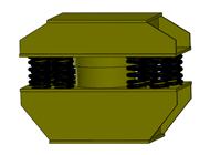 弹簧隔振器