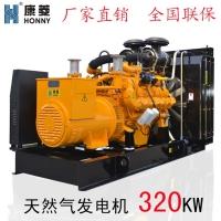 江苏燃气发电机 天然气发电机320KW