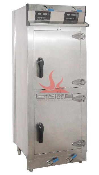 中山市巨伦厨具供应不锈钢蒸品厨具全自动蒸饭柜