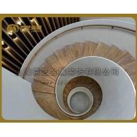 京艺金属2018年钢结构旋转楼梯新款等你选购