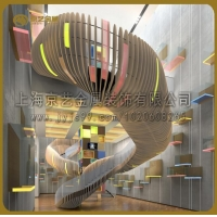 京艺金属二十年实力厂家专业定制专属于您的精品钢结构楼梯