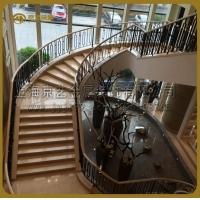 供应京艺大型钢结构楼梯并提供CAD详图效果图包安装包设计