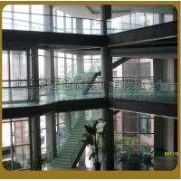 京艺金属定制结构玻璃楼梯钢结构楼梯