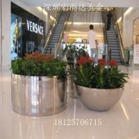 供应不锈钢花盆 金属花盆 组合落地式花盆