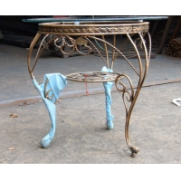 智益金属制品-铁艺-铁艺桌子