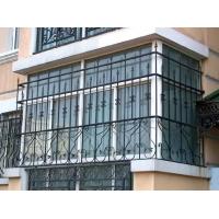 南京智益彩铝门窗-护窗-铁艺-铁艺护窗