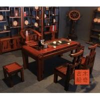 茶桌实木市场 高档住宅家具,茶台专卖店大全