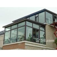 天津钢结构彩钢板搭建 断桥铝门窗封阳台