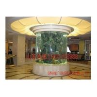 济南圆柱鱼缸