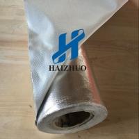 供应铝箔防火布 管道建筑保温材料