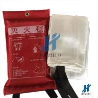 舟山电焊防护毯玻璃纤维材质档烟电焊毯