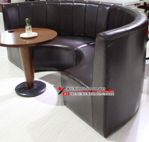 武汉弧形沙发 - 盈升家具
