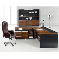武汉办公家具定制盈升公家具经理主管桌2.1米大班台