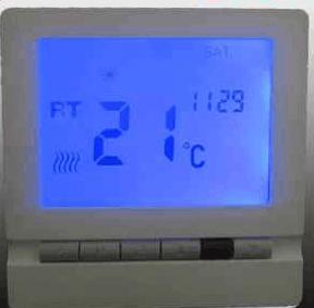 碳晶地暖温控器 电采暖温控器
