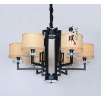 新中式简约现代中式铁艺吊灯代理