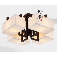 新中式灯具卧室中式吸顶灯